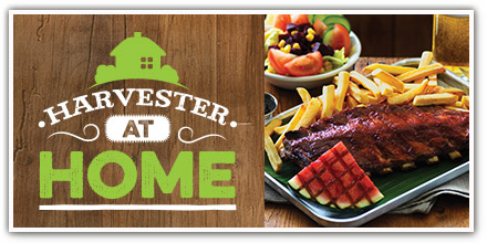 A night in with Harvester