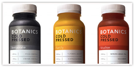 Botanics range launches in All Bar One