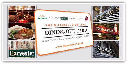 Dine Out with Mitchells & Butlers