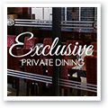 Reserve your exclusive private dining space