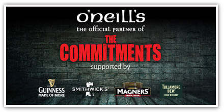 The Commitments and O'Neill's - a truly Irish partnership