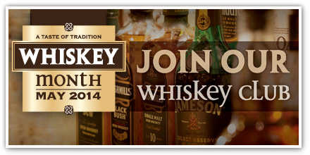 May is Whiskey month