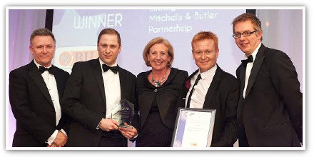 Mitchells & Butlers and UCB win PACE award