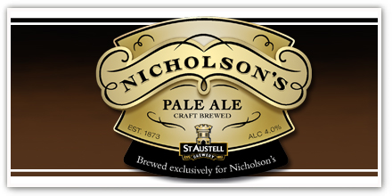New Nicholson's pub toasts exclusive ale launch