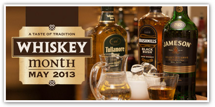 It's Whiskey Month at O'Neill's