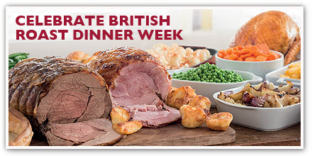 Celebrate British Roast Dinner Week with Toby Carvery