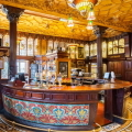 A photograph of the bar in The Philharmonic Dining Rooms in Liverpool