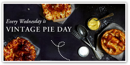 Wednesday is Vintage Pie Day