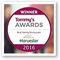Harvester wins Tommy's Award for fourth year running!