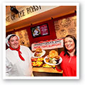 Toby Carvery rally the troops on Armed Forces Day